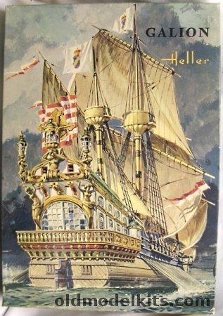 Heller 1 200 Spanish Galleon Galion 1600 L835