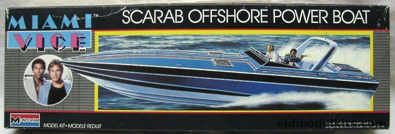 Monogram 136 Miami Vice Wellcraft Scarab Offshore Power