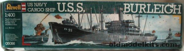 Revell 1400 USS Burleigh US Navy C 3 Cargo Ship 05086