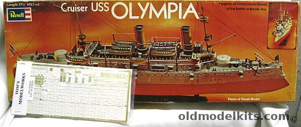 Revell 1232 Cruiser USS Olympia with Toms Photoetched