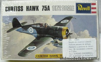Revell 1/72 Curtiss Hawk 75A (P-36) - Finnish Air Force ...