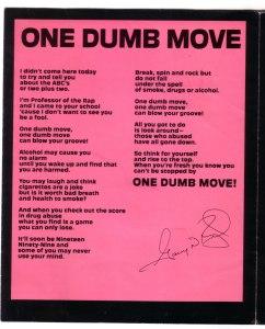 One Dumb Move - Inside left