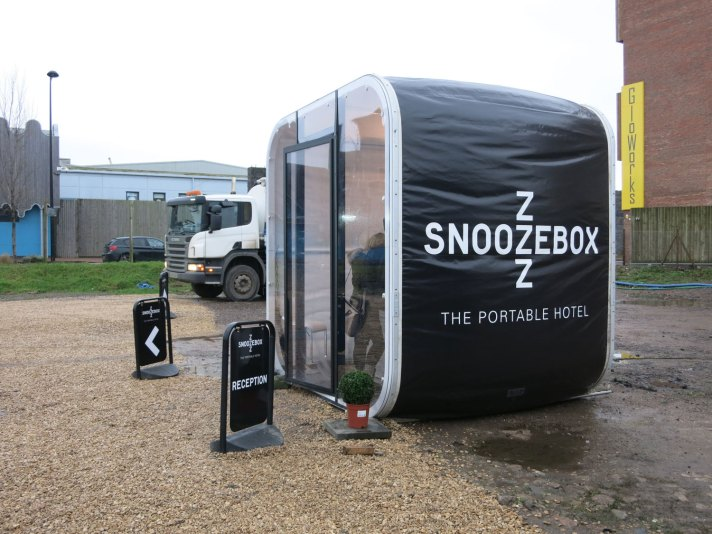 Snoozebox Reception