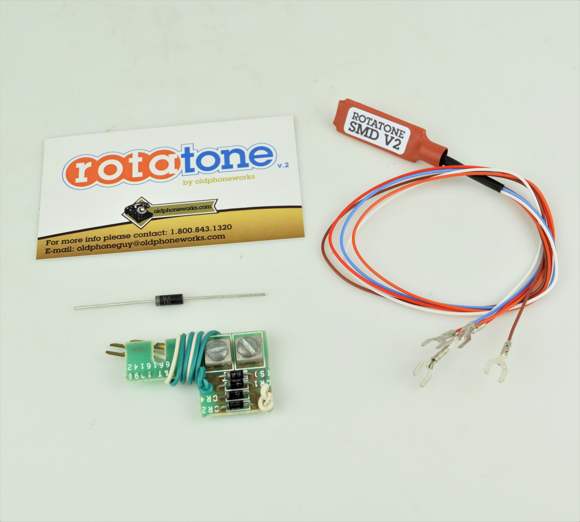 hight resolution of rotatone pulse to tone converter