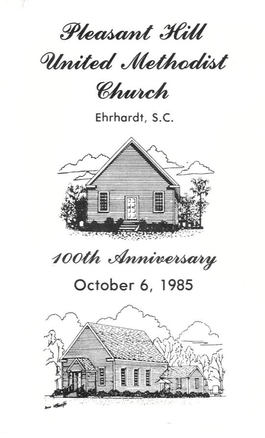 Pleasant Hill UMC Anniversary 1985