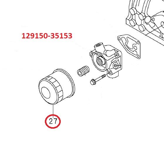 129150-35170 Oil Filter