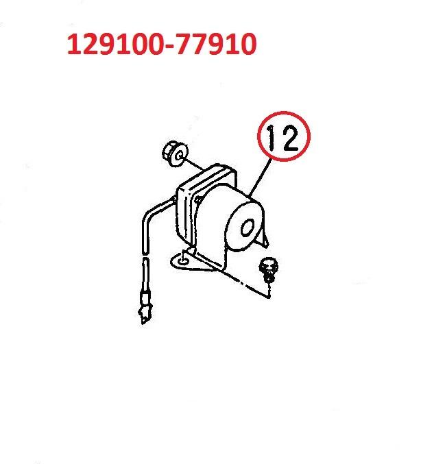 129100-77910 Starter Relay