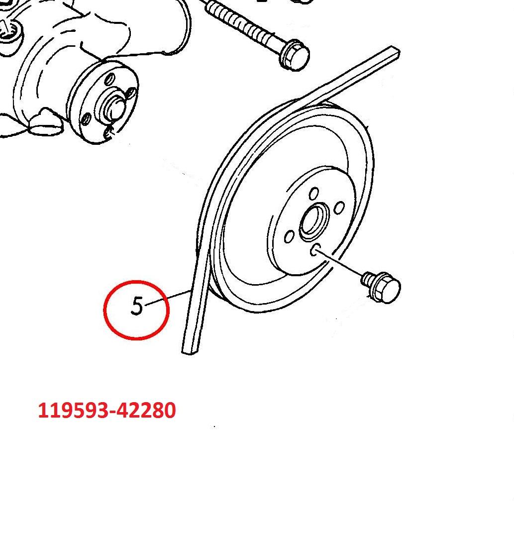 119593-42280 Belt