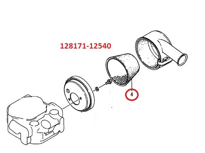 128171-12540 Air Element