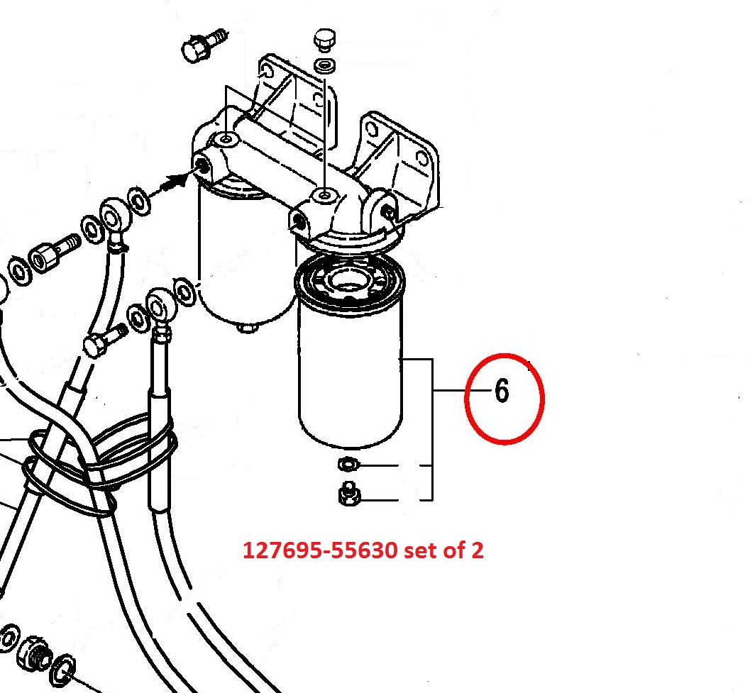 yanmar fuel filter change