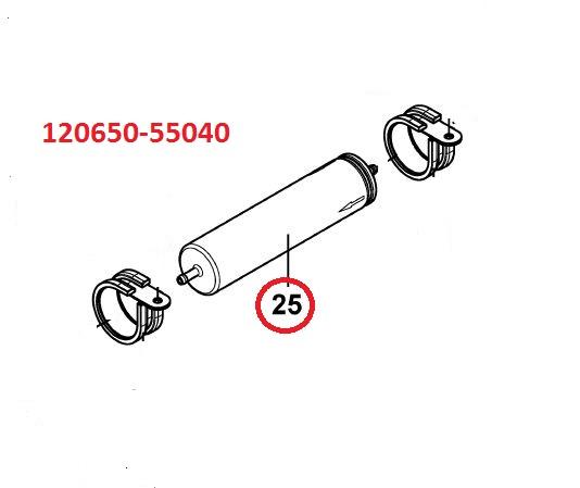 120650-55040 Inline Fuel Filter