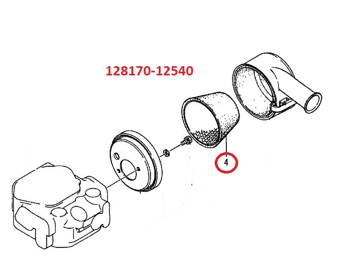 128170-12540 Air Element