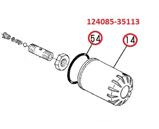 124085-35170 (Supersedes 124085-35113) Oil Filter