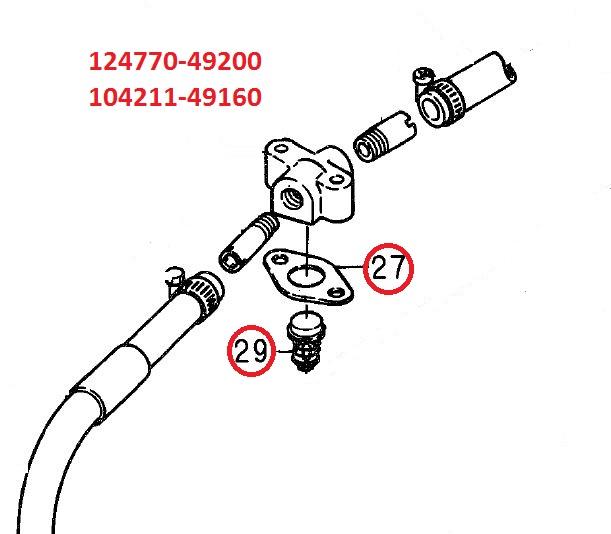 124770-49200 & 104211-49160 Thermostat