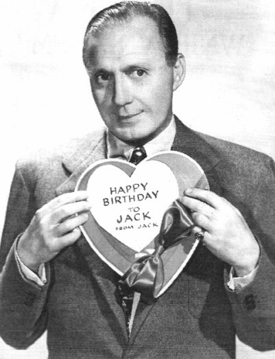 happy birthday jack benny