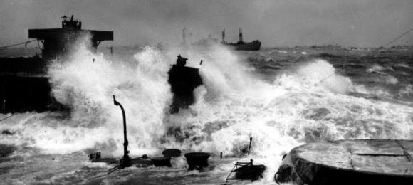Image result for mulberry harbour storm 19th june
