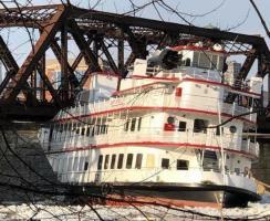 Ice Jams on the Hudson River Break Moorings Shut Down