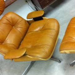 Selig Eames Chair Swivel On Finance Vintage Lounge W Ottoman Modern Love