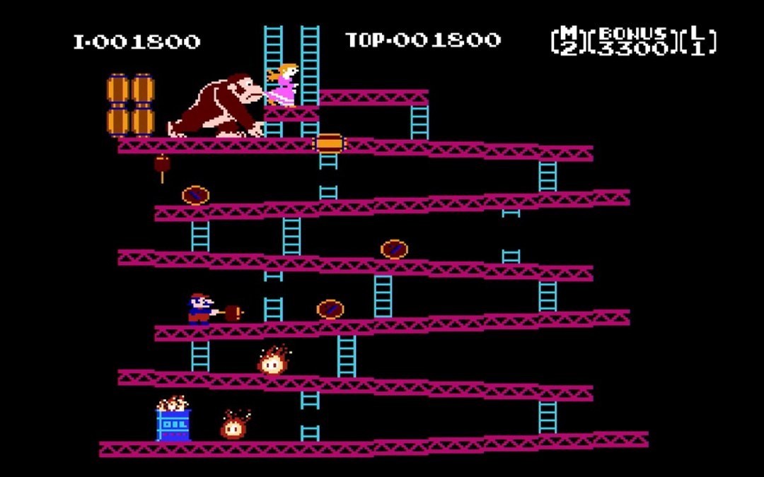 Keep Calm and Insert Coin: Cursing Donkey Kong and Peeing In My Pants