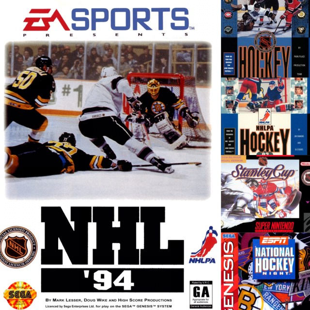 The Greatest Hockey Games Of 16 Bit Era