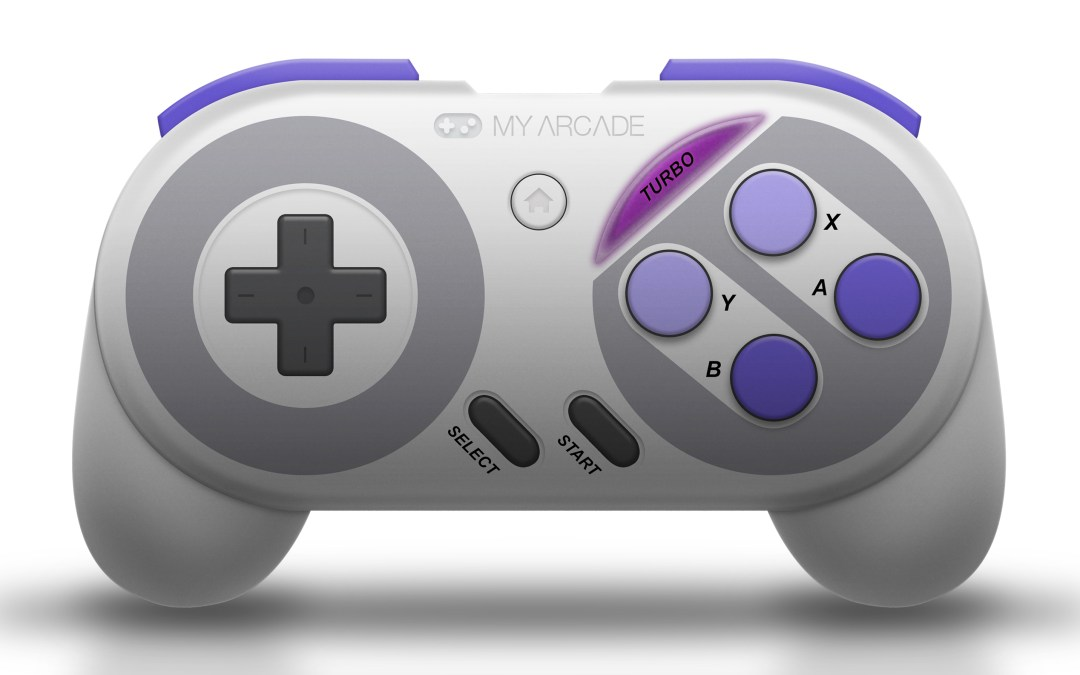 My Arcade Reveals Super Gamepad for the Super NES™ Classic Edition