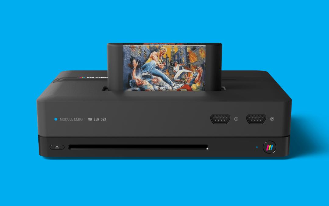 Unleash your Nostalgia with the Polymega Modular Entertainment System