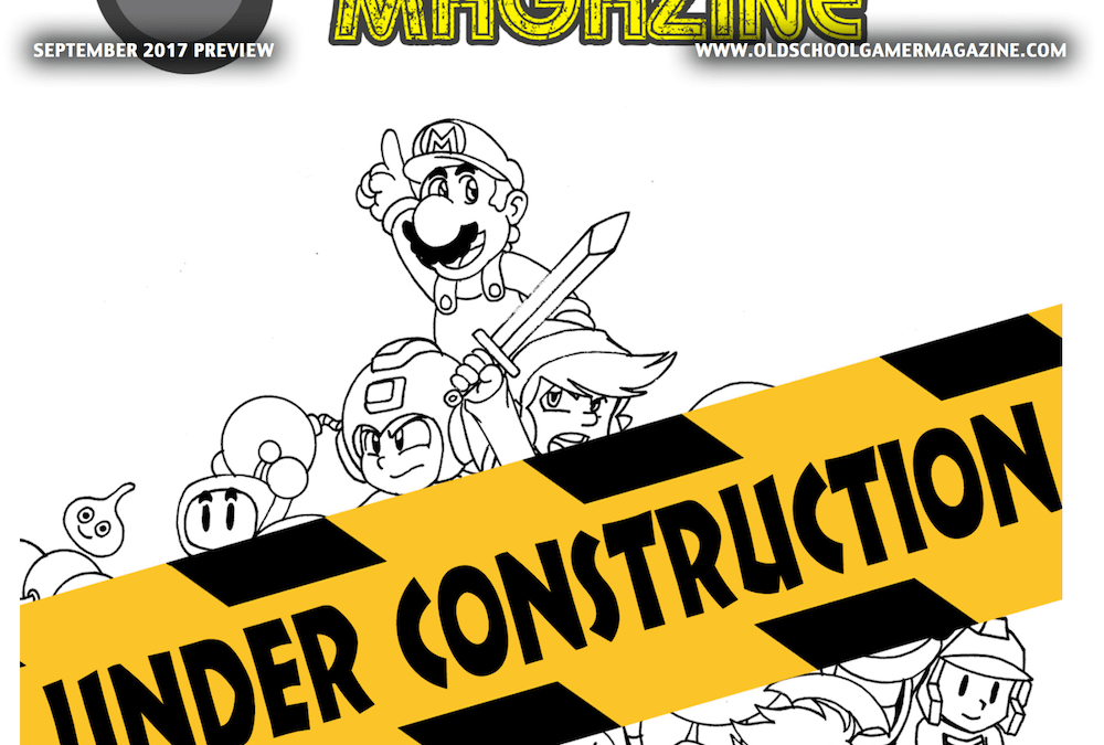 Preview Issue of Old School Gamer Now ONLINE!