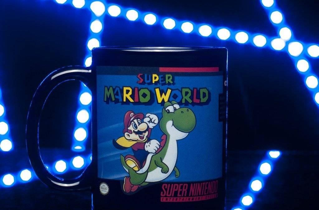 SNES Mugs, Lights and More!