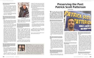 Preserving the Past: Patrick Scott Patterson