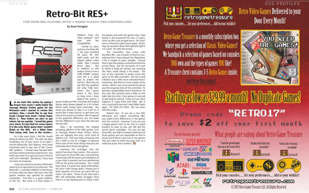 Review: Retro-Bit RES+ – By Brad Feingold