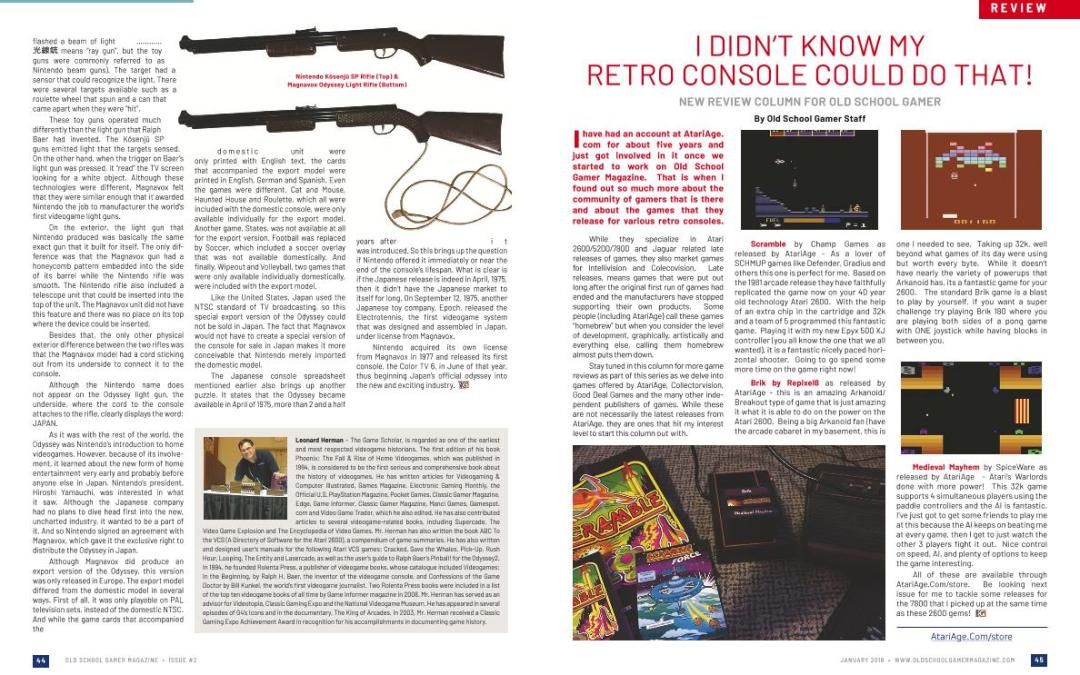 Review: I Didn't Know My Retro Console Could Do That! – By Old School Gamer