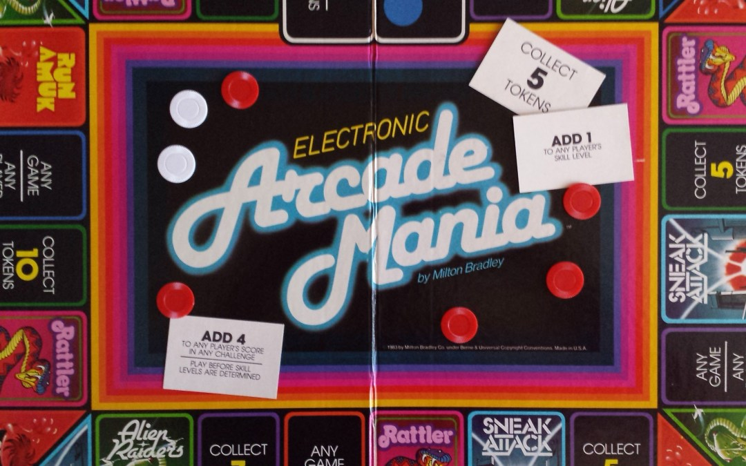 Arcade Mania – The Board Game That's Just Like Going to the Arcade