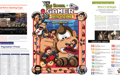 Latest Issue of Old School Gamer going online NOW!