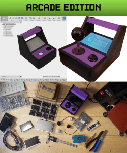 Multirotor: A 80's style tabletop arcade game