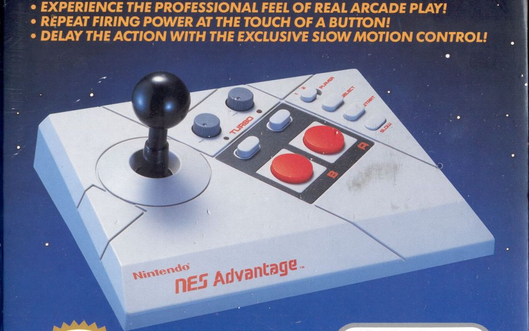 A Closer Look at Nintendo's Official NES Peripherals: NES Advantage