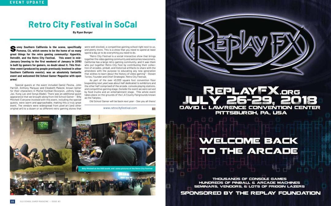 Retro City Festival in SoCal – By Old School Gamer Staff