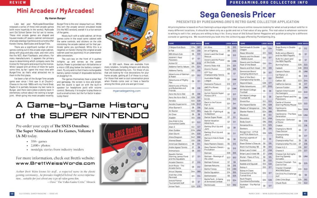Puregaming.org Collector Info: Sega Genesis Pricer