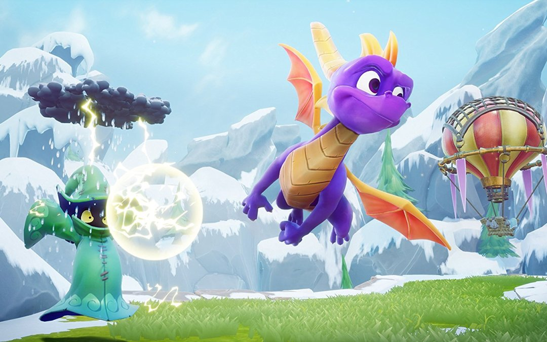 Spyro Reignited Trilogy Leaked on Amazon