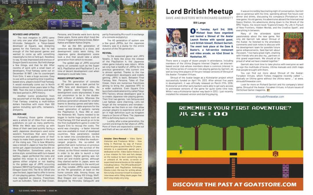 Lord British Meetup: Dave and Busters With Richard Garriott – Bill Lange