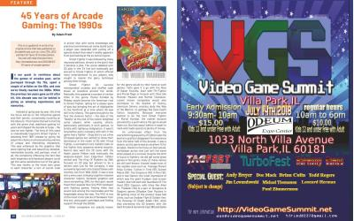 45 Years of Arcade Gaming: The 1990s – By Adam Pratt