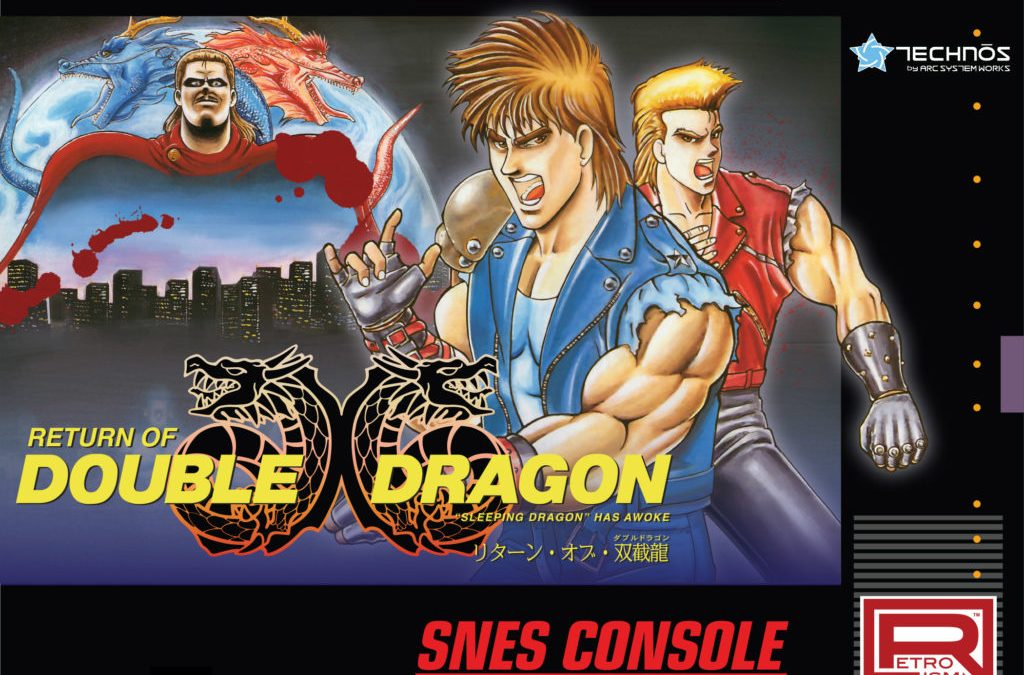 Return of Double Dragon to be Re-Released in the US