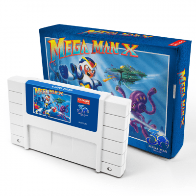 Mega Man 30th Anniversary Classic Cartridge Coming Soon