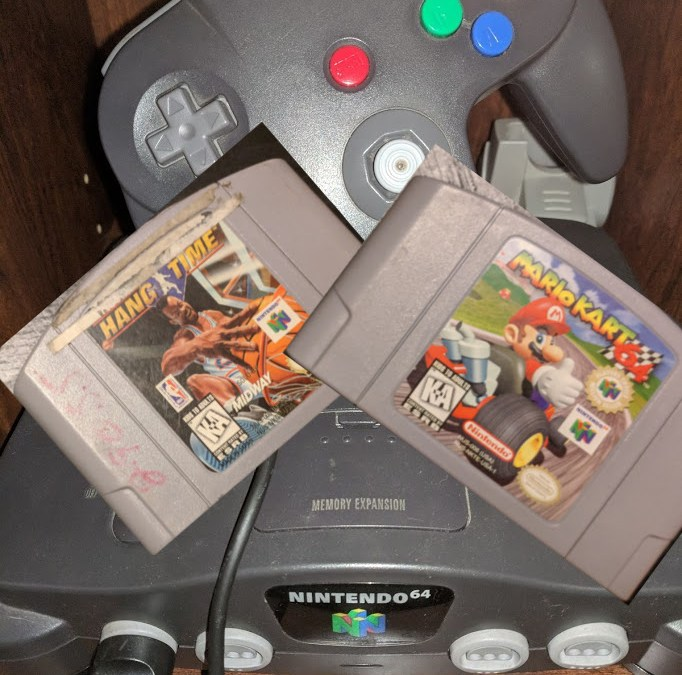 Nintendo 64 Chronicles [5] NBA Hangtime & Mario Kart 64