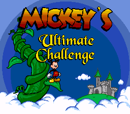 The Last Official Release: Sega Master System – Mickey's Ultimate Challenge (1998)