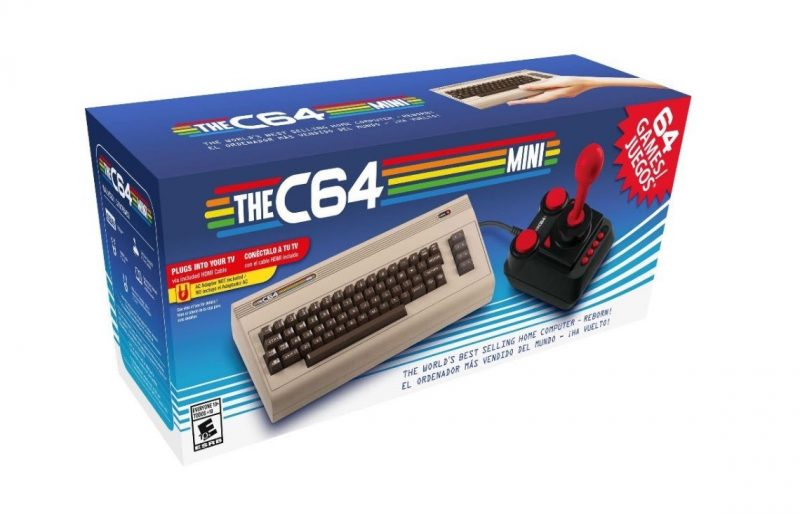 Nostalgia Comes Alive with the C64 Mini – Coming to North America October 9