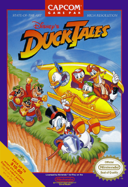 Tales of Derring-Do: DuckTales on the NES
