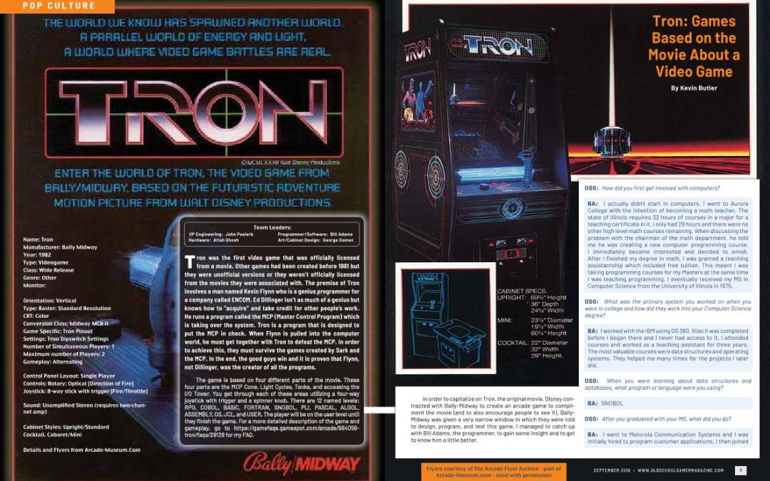 TRON: Games Based on the Movie About a Video Game – By Kevin Butler