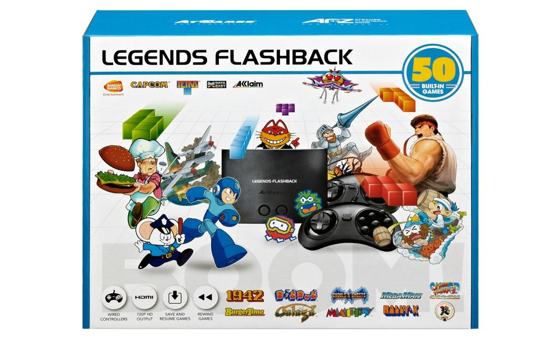 AtGames Announces Legends Flashback Console