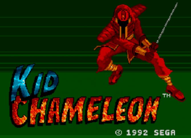 Kid Chameleon on the Sega Genesis