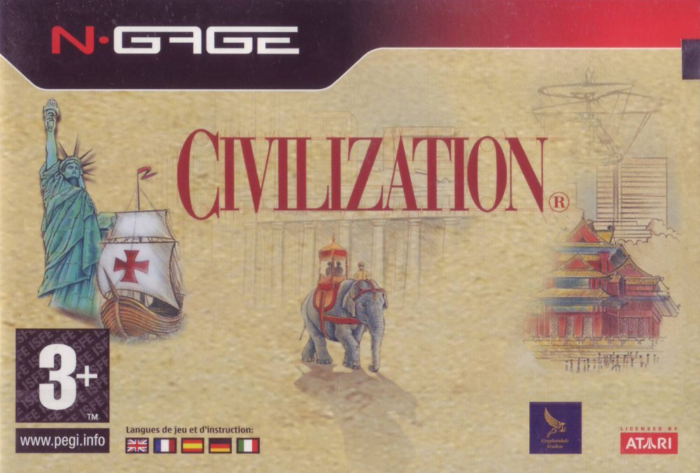 The Last Official Release: N-Gage – Civilization (2006)